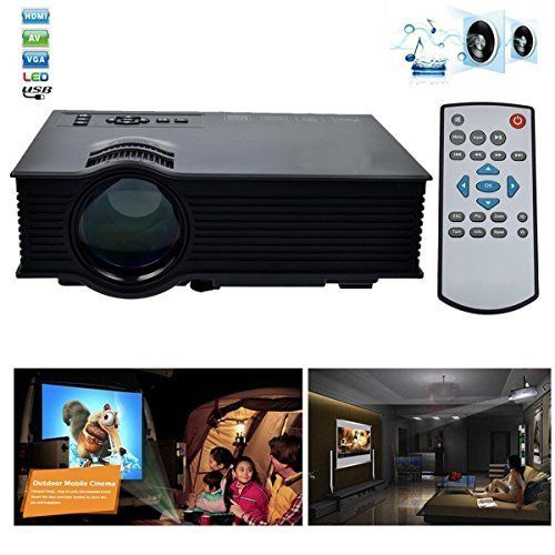 Proiettore Videoproiettore LED WIFI 1200 lumen 3D 1080P HD HDMI USB Home Cinema